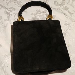 Vintage Suede Robert Lee Morris Handbag NWOT